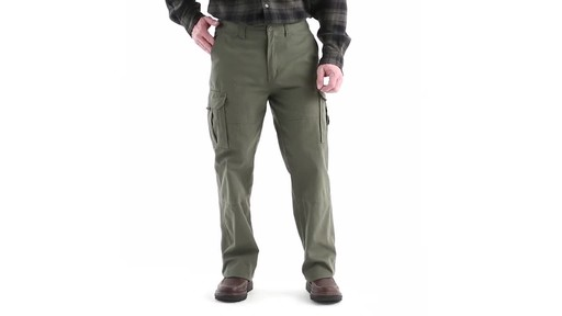 Guide Gear Men's Outdoor Cargo Pants 360 View - image 10 from the video