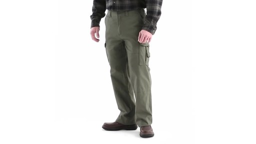 Guide Gear Men's Outdoor Cargo Pants 360 View - image 8 from the video