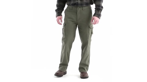 Guide Gear Men's Outdoor Cargo Pants 360 View - image 9 from the video