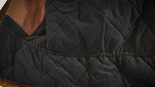 Gravel Gear Men's Washed Duck Insulated Chore Coat - image 3 from the video
