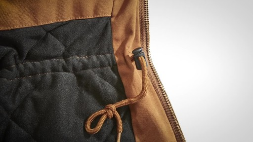 Gravel Gear Men's Washed Duck Insulated Chore Coat - image 5 from the video
