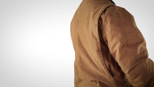 Gravel Gear Men's Washed Duck Insulated Chore Coat - image 8 from the video