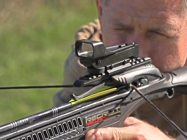 Barnett™ Recruit Recurve Crossbow - image 6 from the video