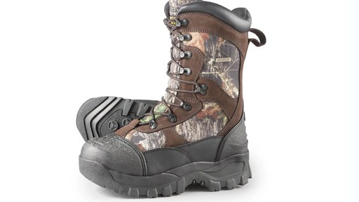 Guide Gear Men's Insulated Hunting Boots Waterproof Thinsulate 2400 Gram - image 2 from the video