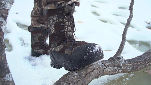 Guide Gear Men's Insulated Hunting Boots Waterproof Thinsulate 2400 Gram - image 7 from the video
