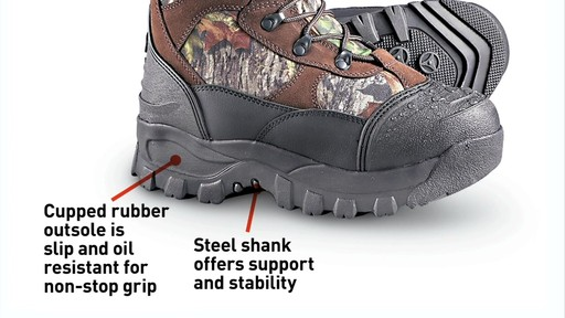 Guide Gear Men's Insulated Hunting Boots Waterproof Thinsulate 2400 Gram - image 8 from the video