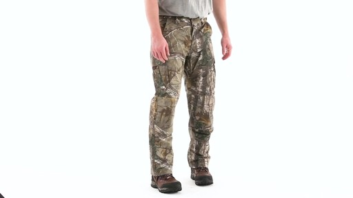 Guide Gear Men's Camo Ripstop Hunting Pants 360 View - image 1 from the video