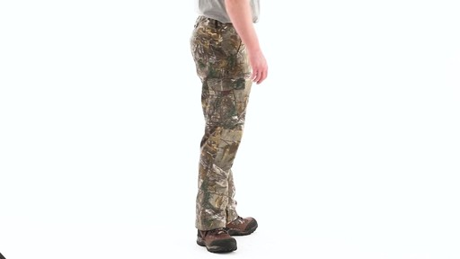 Guide Gear Men's Camo Ripstop Hunting Pants 360 View - image 2 from the video