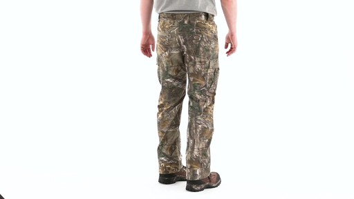 Guide Gear Men's Camo Ripstop Hunting Pants 360 View - image 3 from the video