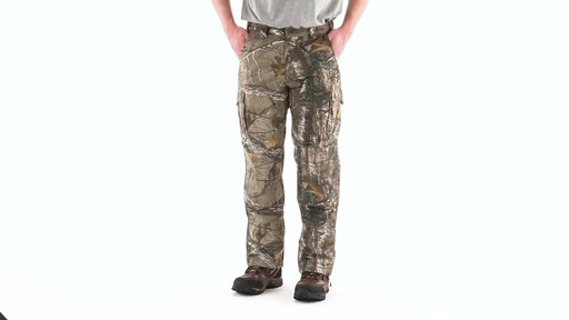 Guide Gear Men's Camo Ripstop Hunting Pants 360 View - image 7 from the video