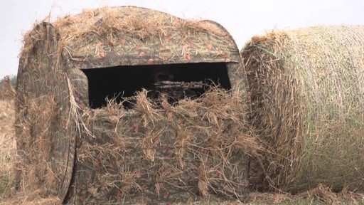 Guide Gear Hay Bale Archery Blind - image 1 from the video
