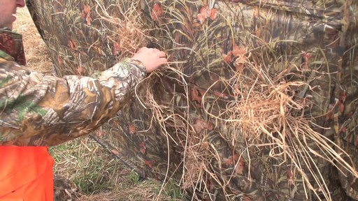 Guide Gear Hay Bale Archery Blind - image 2 from the video