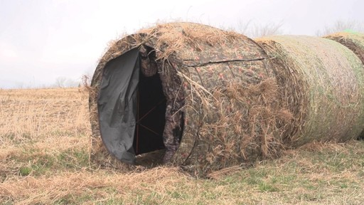 Guide Gear Hay Bale Archery Blind - image 6 from the video