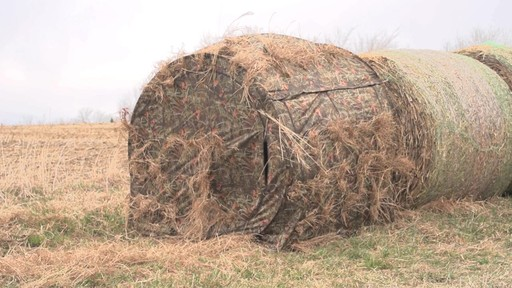 Guide Gear Hay Bale Archery Blind - image 7 from the video
