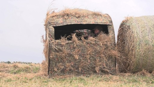 Guide Gear Hay Bale Archery Blind - image 8 from the video