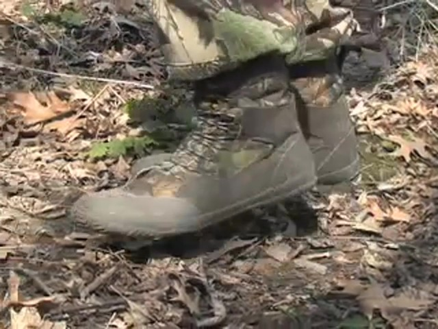 "Men's Guide Gear® 8"" Waterproof Sneakers Hardwoods® Green - image 10 from the video"