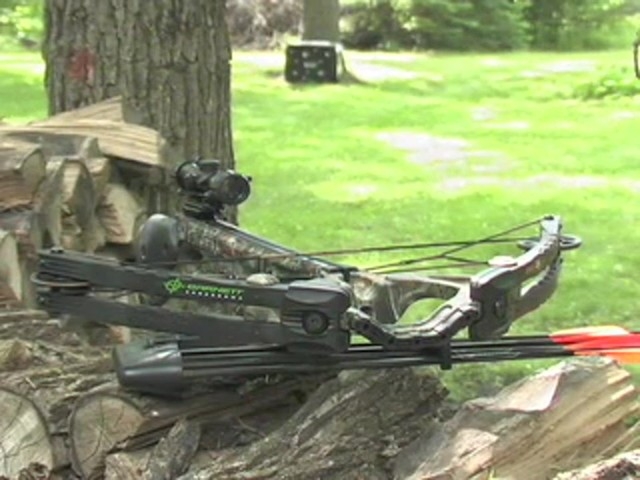 Barnett® Predator Crossbow Kit with 4x32 mm Scope - image 10 from the video