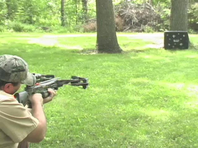Barnett® Predator Crossbow Kit with 4x32 mm Scope - image 4 from the video