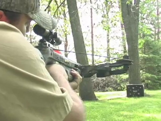 Barnett® Predator Crossbow Kit with 4x32 mm Scope - image 5 from the video