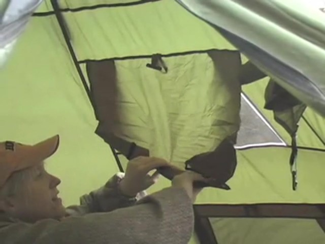 Guide Gear® 10x10' Teepee Tent - image 5 from the video