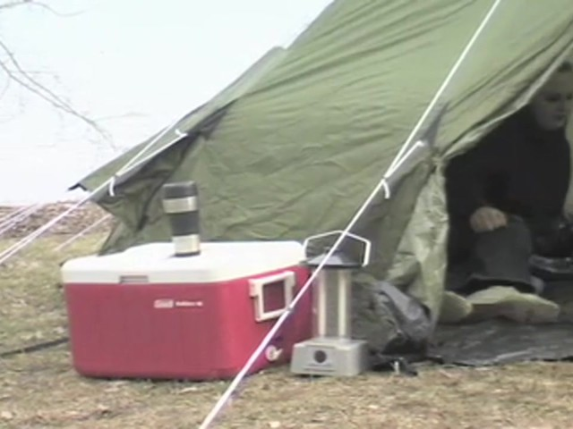 Guide Gear® 10x10' Teepee Tent - image 7 from the video