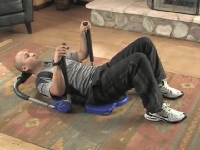 Multi - Flex Core Pro Ab Gym Home Ab Machine - image 3 from the video