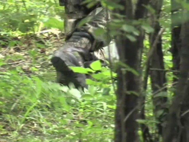 Men's Guide Gear® Waterproof 800 gram Thinsulate™ Ultra Insulation EXO Hunters Hardwoods® Green - image 4 from the video