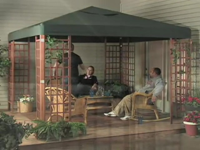 10x10' Wood Gazebo - image 1 from the video