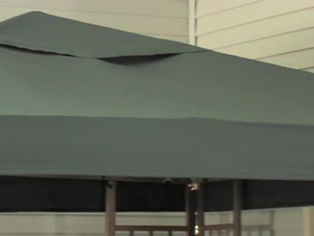 10x10' Wood Gazebo - image 3 from the video