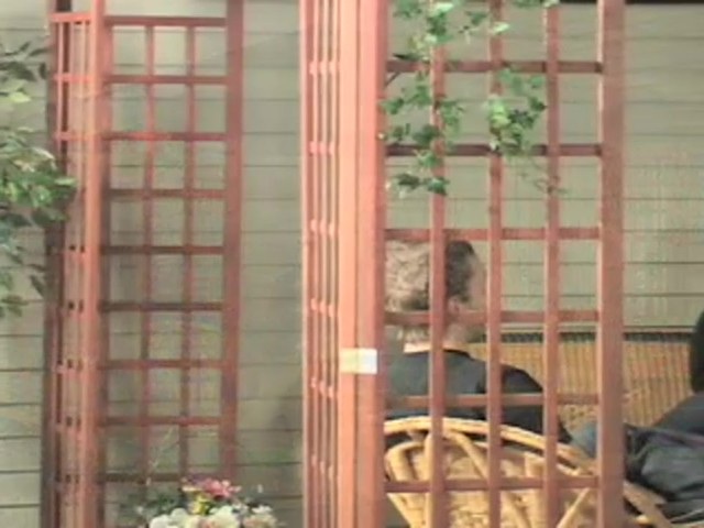 10x10' Wood Gazebo - image 7 from the video