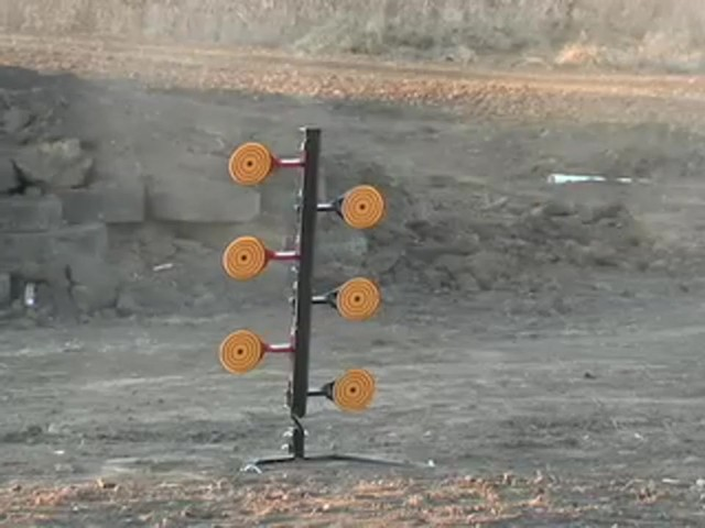 9 mm - .30 - .06 Steel Round - up Target - image 2 from the video