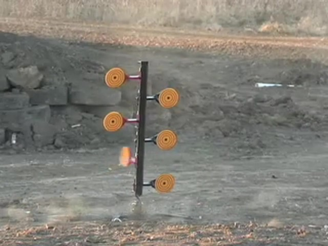 9 mm - .30 - .06 Steel Round - up Target - image 9 from the video
