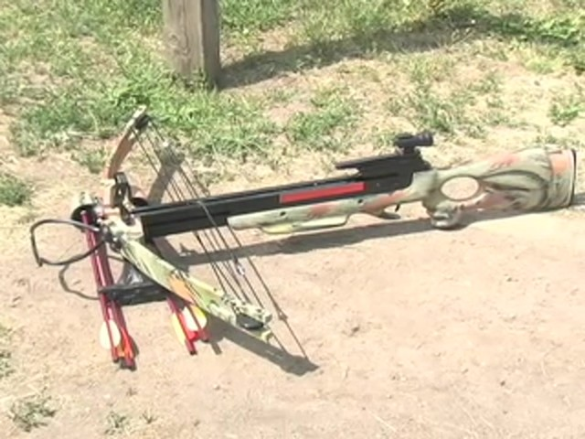 Eagle VI 150 - lb. Compound Crossbow - image 10 from the video