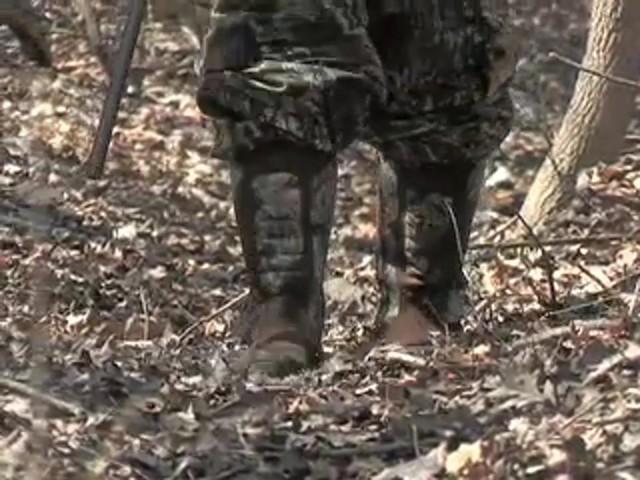 """Men's Waterproof 18"""" Guide Gear® Side - zip Cottonmouth II Snake Boots Mossy Oak® - image 4 from the video"""