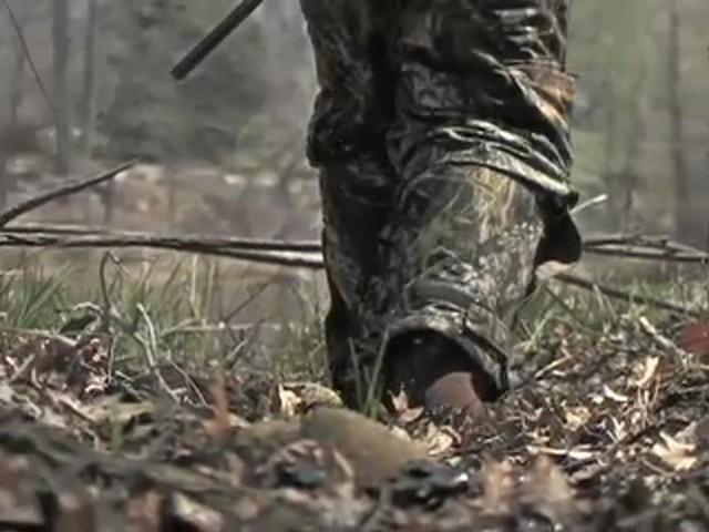 """Men's Waterproof 18"""" Guide Gear® Side - zip Cottonmouth II Snake Boots Mossy Oak® - image 5 from the video"""