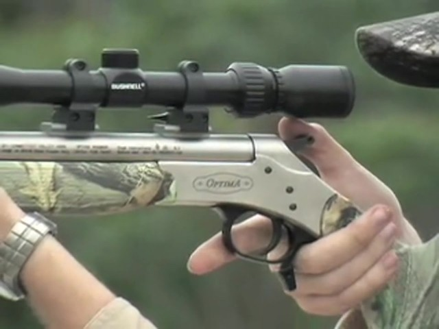 CVA® Optima™ .50 cal. Muzzleloader Value Pack Camo / Nickel - image 3 from the video