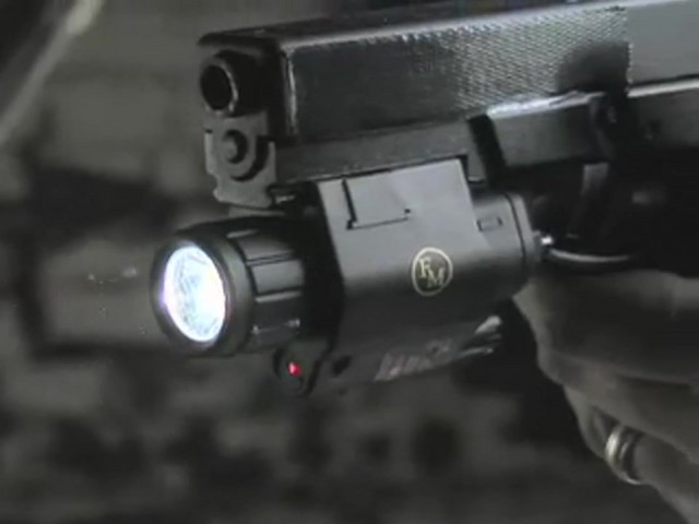 FM Optics™ Tactical Laser / Light Combo - image 7 from the video