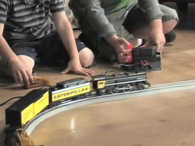 Lionel® Limited Edition Caterpillar® Train Set - image 5 from the video