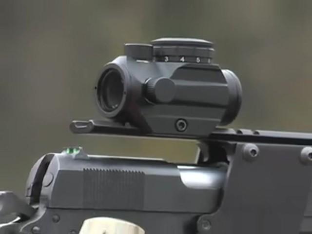 FM Optics™ 1X Mini Micro Red Dot Sight Matte Black - image 1 from the video