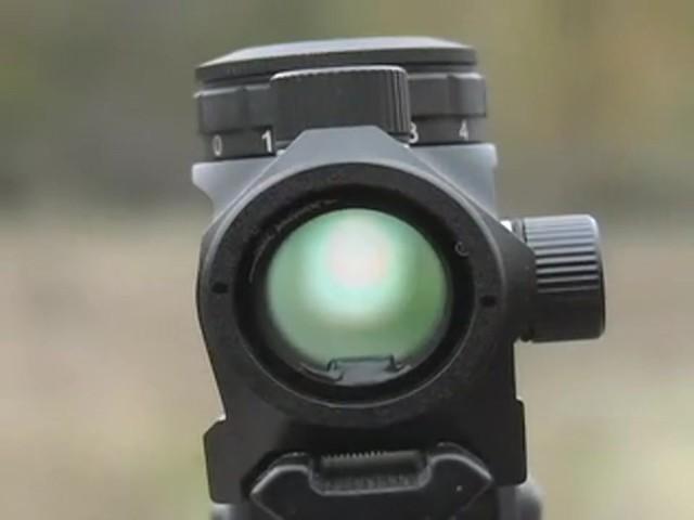 FM Optics™ 1X Mini Micro Red Dot Sight Matte Black - image 5 from the video