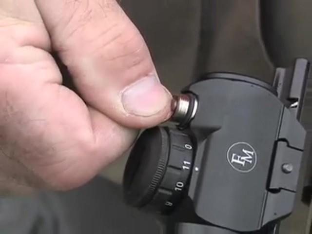 FM Optics™ 1X Mini Micro Red Dot Sight Matte Black - image 6 from the video