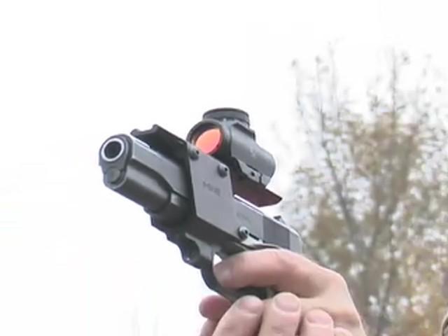 FM Optics™ 1X Mini Micro Red Dot Sight Matte Black - image 7 from the video