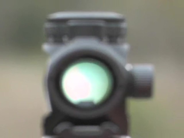 FM Optics™ 1X Mini Micro Red Dot Sight Matte Black - image 8 from the video