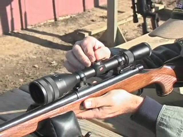 Federal® Intensity™ Optics 3 - 10x44 mm Rifle Scope Matte Black - image 6 from the video