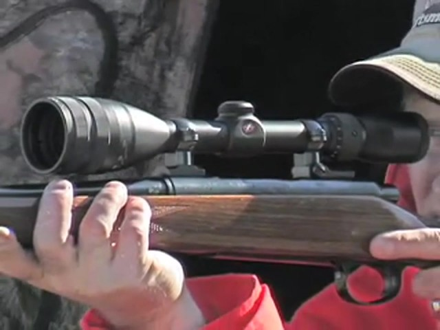 Federal® Intensity™ Optics 3 - 10x44 mm Rifle Scope Matte Black - image 9 from the video