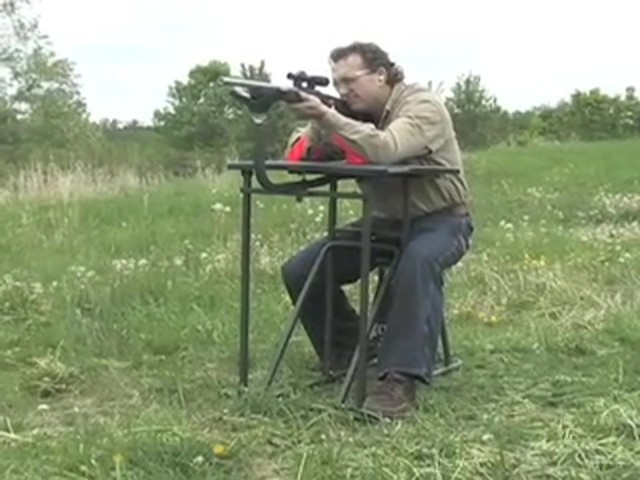 Southwest Tactical™ Buck - Sites™ Shooting Bench - image 10 from the video