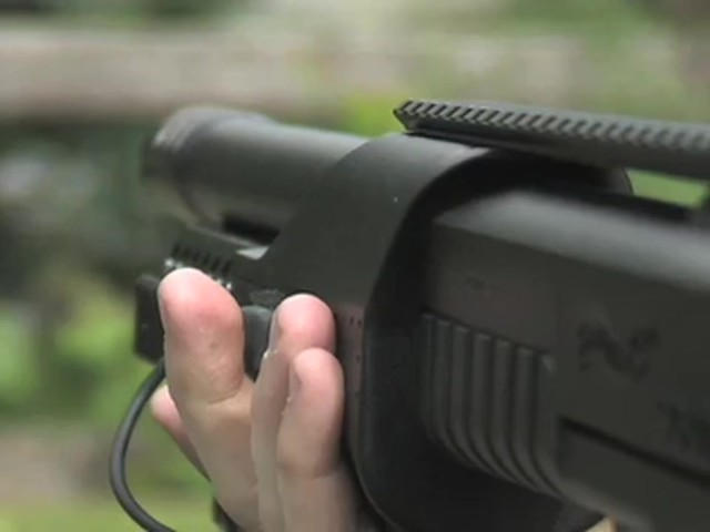 Walther® SG9000 Tactical Air Shotgun with BONUS Rail - mounted Laser Sight - image 4 from the video