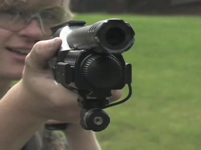Walther® SG9000 Tactical Air Shotgun with BONUS Rail - mounted Laser Sight - image 5 from the video