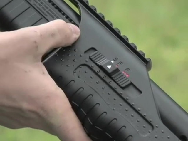 Walther® SG9000 Tactical Air Shotgun with BONUS Rail - mounted Laser Sight - image 6 from the video