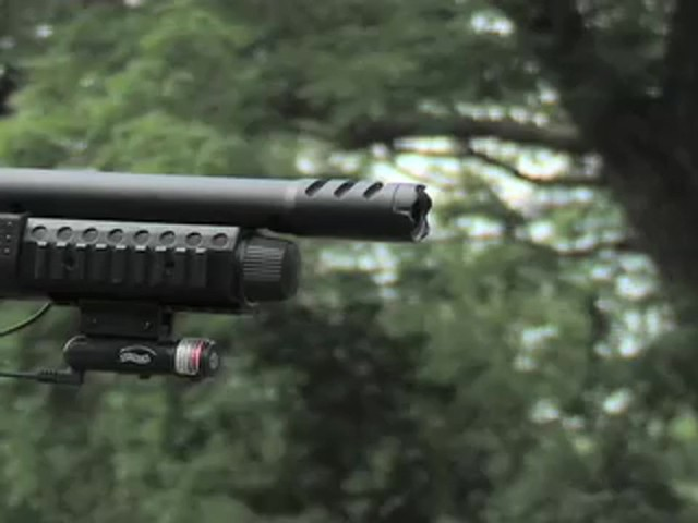 Walther® SG9000 Tactical Air Shotgun with BONUS Rail - mounted Laser Sight - image 7 from the video